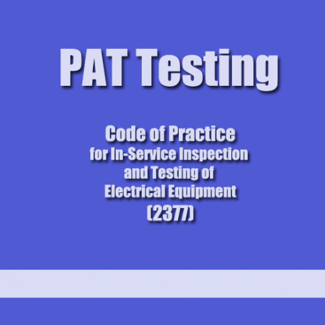 PAT Testing - In-service Inspection and Testing Course